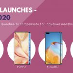 Multiple phone launches in June to compensate for lockdown months.